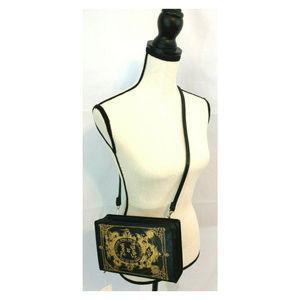 Sweet Marigold Bags - Book of Spells Purse Handbag Gothic Goth Witch Zip